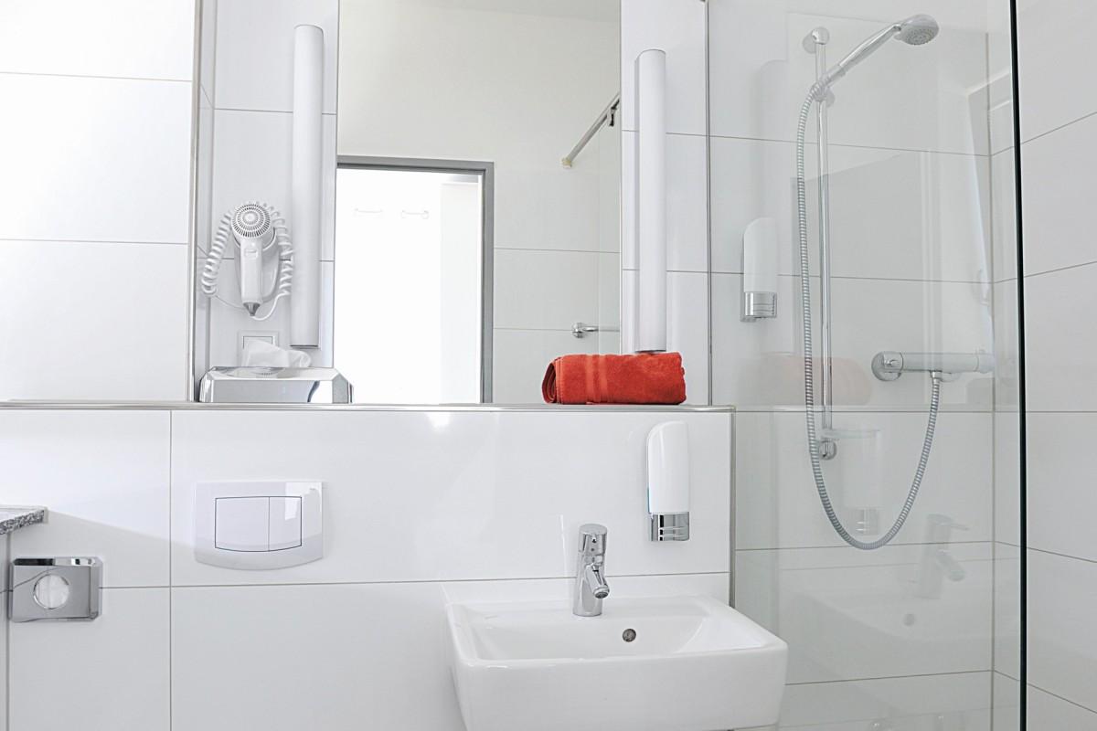 Hostel Köln Badezimmer Beispiel